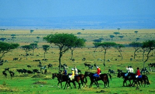 Horse Riding Safari in the Masai Mara