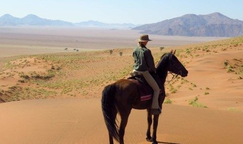 Wolwedans Lodge Riding Holiday in Namibia