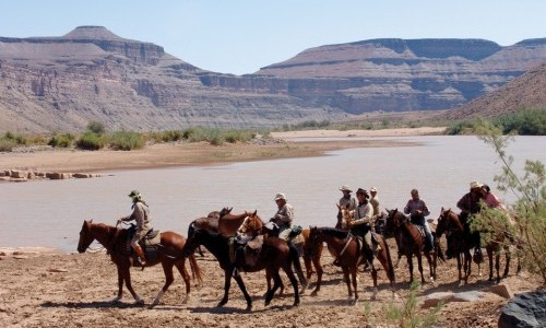Desert Canyons Horse Ride in Namibia