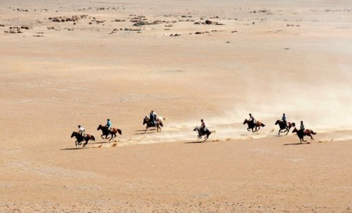 The Namib Desert Ride