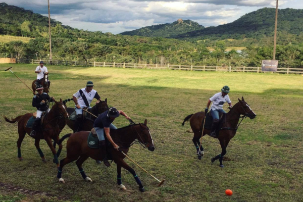 Polo Players in Africa