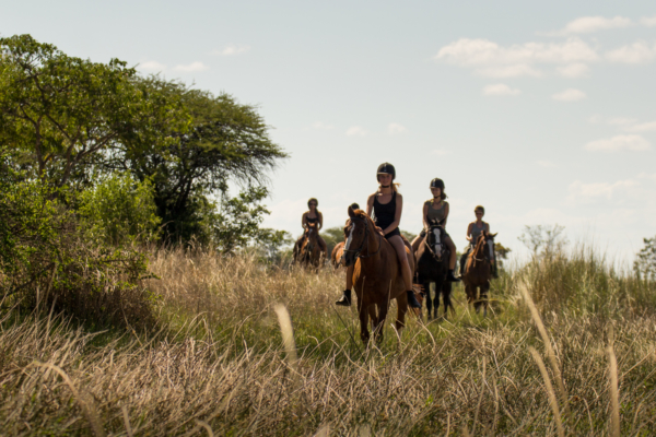 trail riding in africa