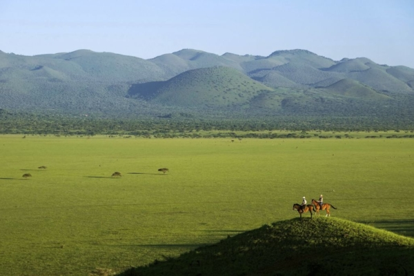 Miles of Africa all around at Chyulu Hills