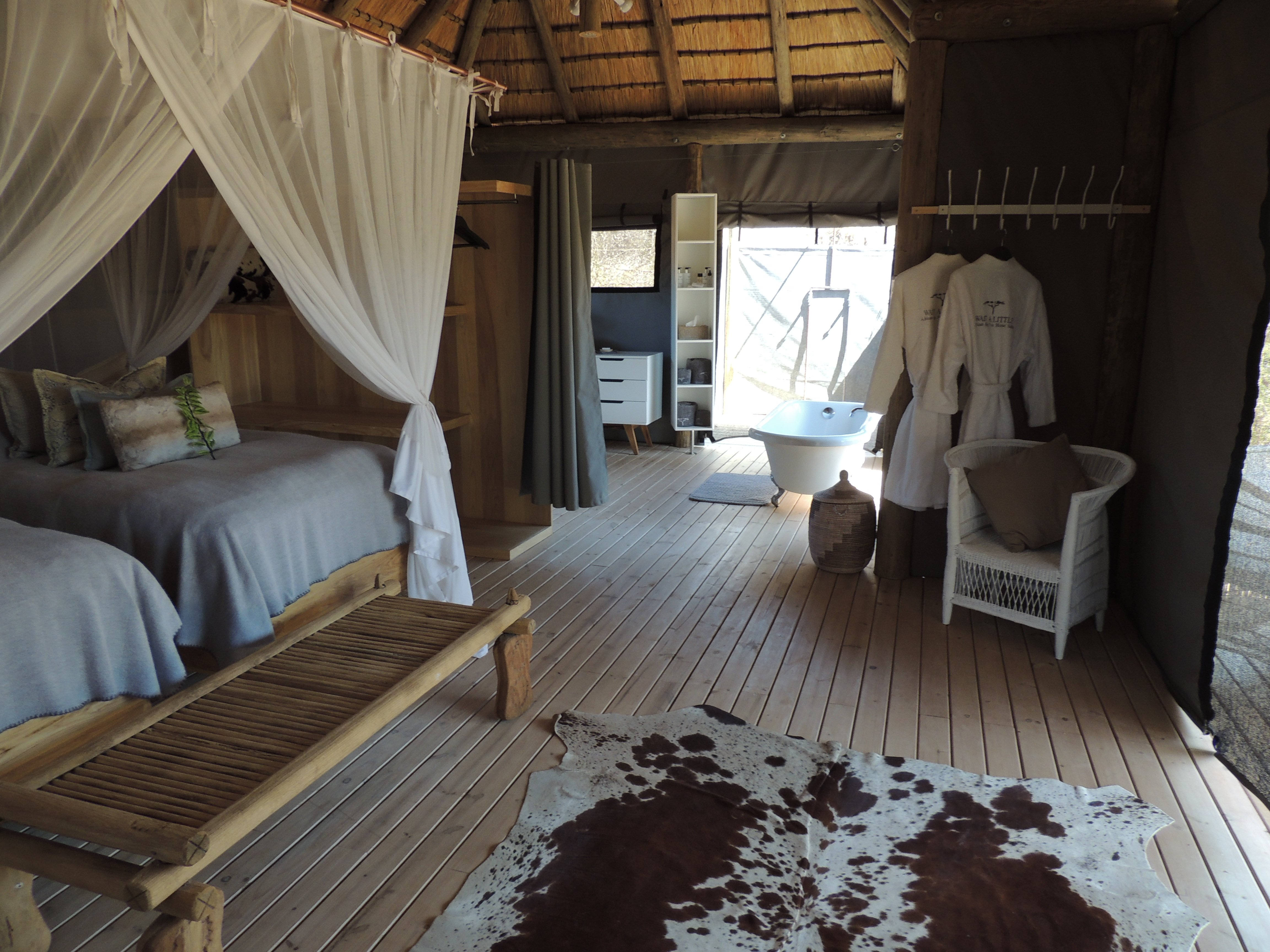 Big 5 Horse Safari - Wait A Little Camp Accommodation