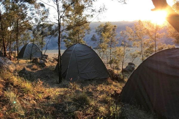 Fly camping in Eswatini