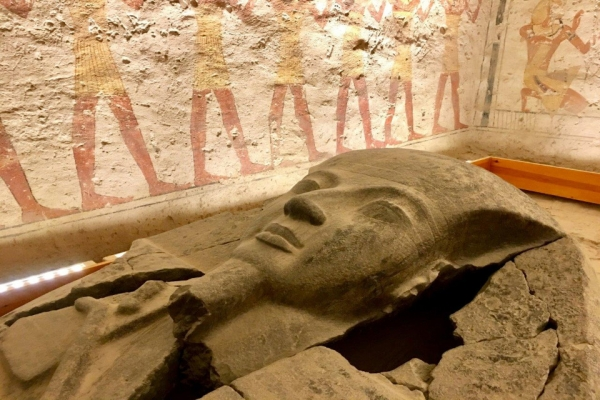 Egyptian Mummy in Cairo Museum