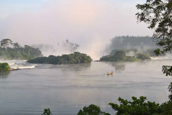 White water in the NIle